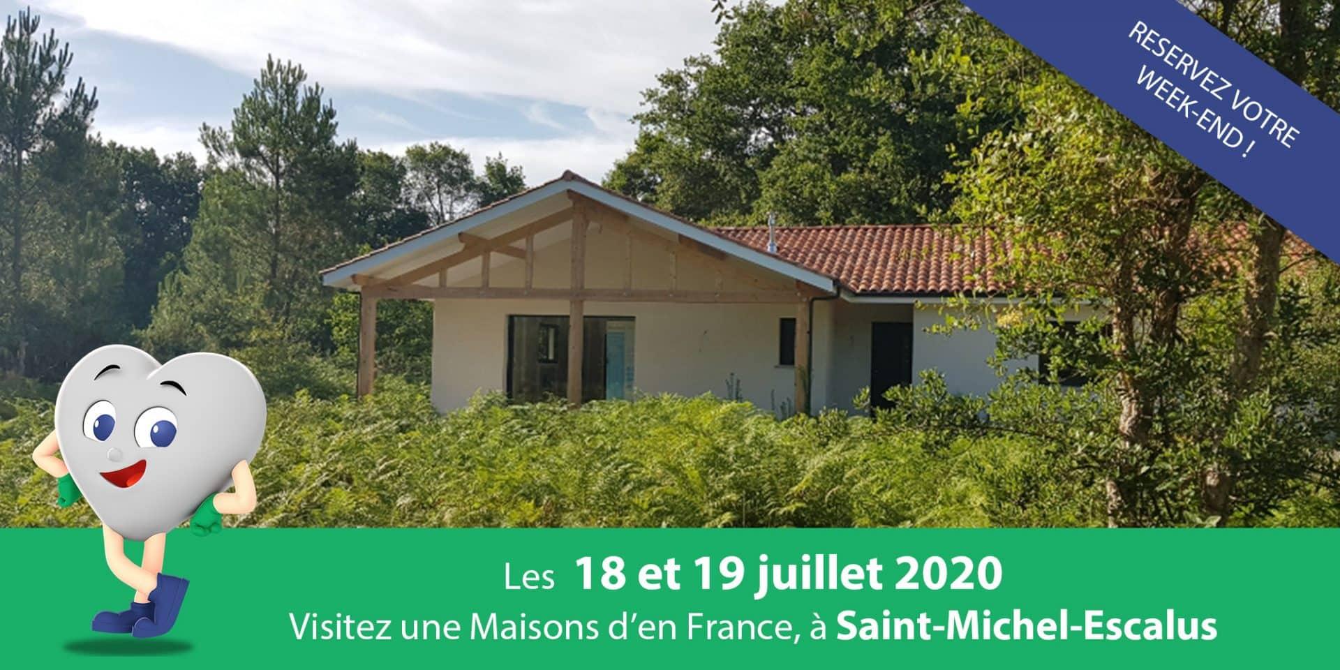 Maison neuve de 140m² et 4 chambre à Saint michel escalus landes