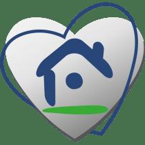 Logo Maisons d'en France en forme de coeur