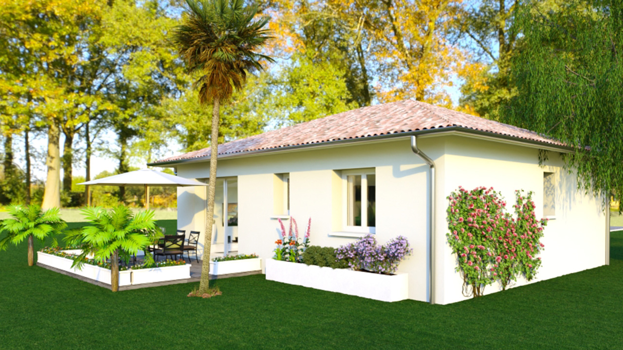 Maison une chambre avec terrasse dans les Landes