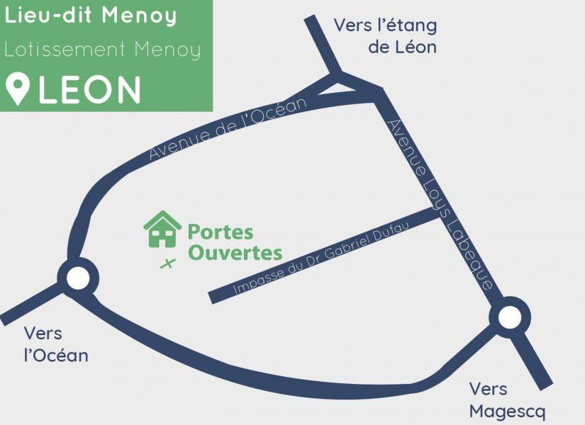 plan itinéraire ville de leon